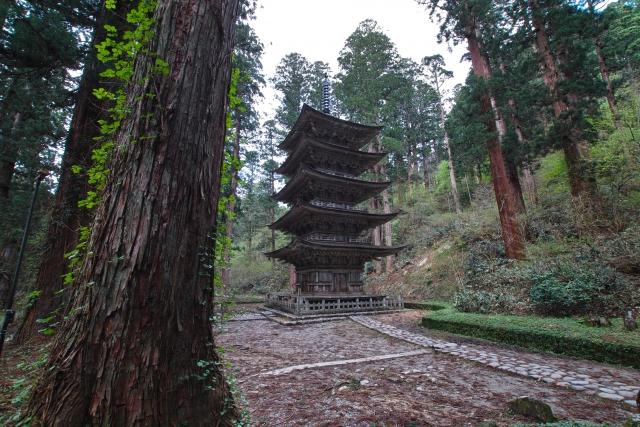 出羽三山神社 五重塔