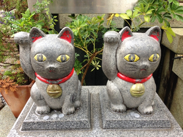 今戸神社 招き猫
