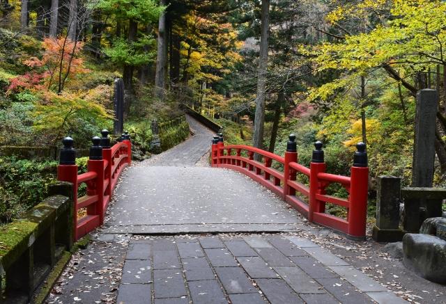 榛名神社 禊橋