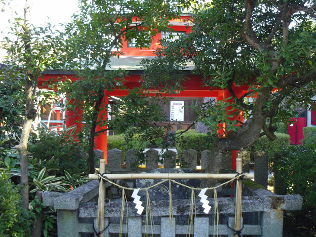 車折神社 石信仰