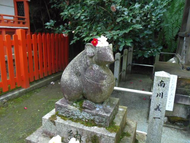 大豊神社 大国社 狛鼠