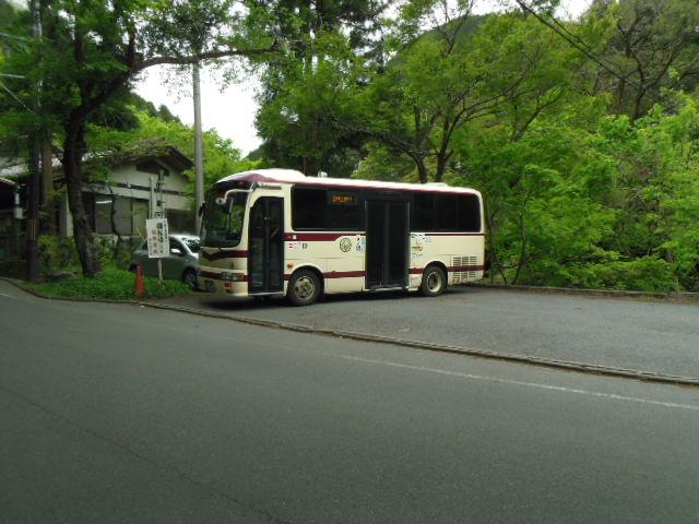 貴船神社への京都バスはミニバス