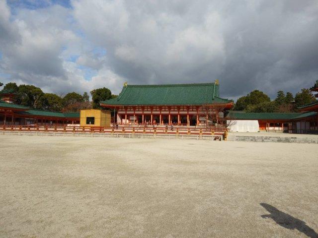 平安神宮 縁結び神社 右近の橘 左近の桜