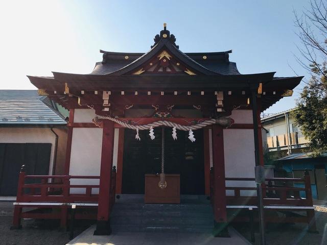 本町南町八幡神社 縁結び神社
