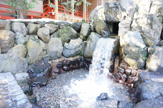 椿大神社 願い滝