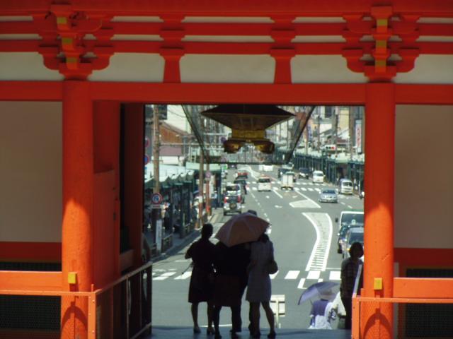 八坂神社 四条通り