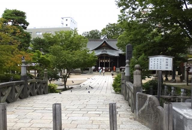 四柱神社 鳥居 縁結び神社