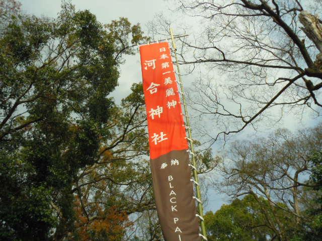 河合神社 日本一の美麗神