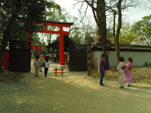 下鴨神社 河合神社