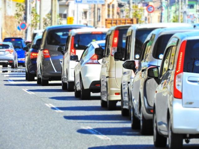 渋滞回避 駐車場