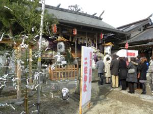 二柱神社 正月